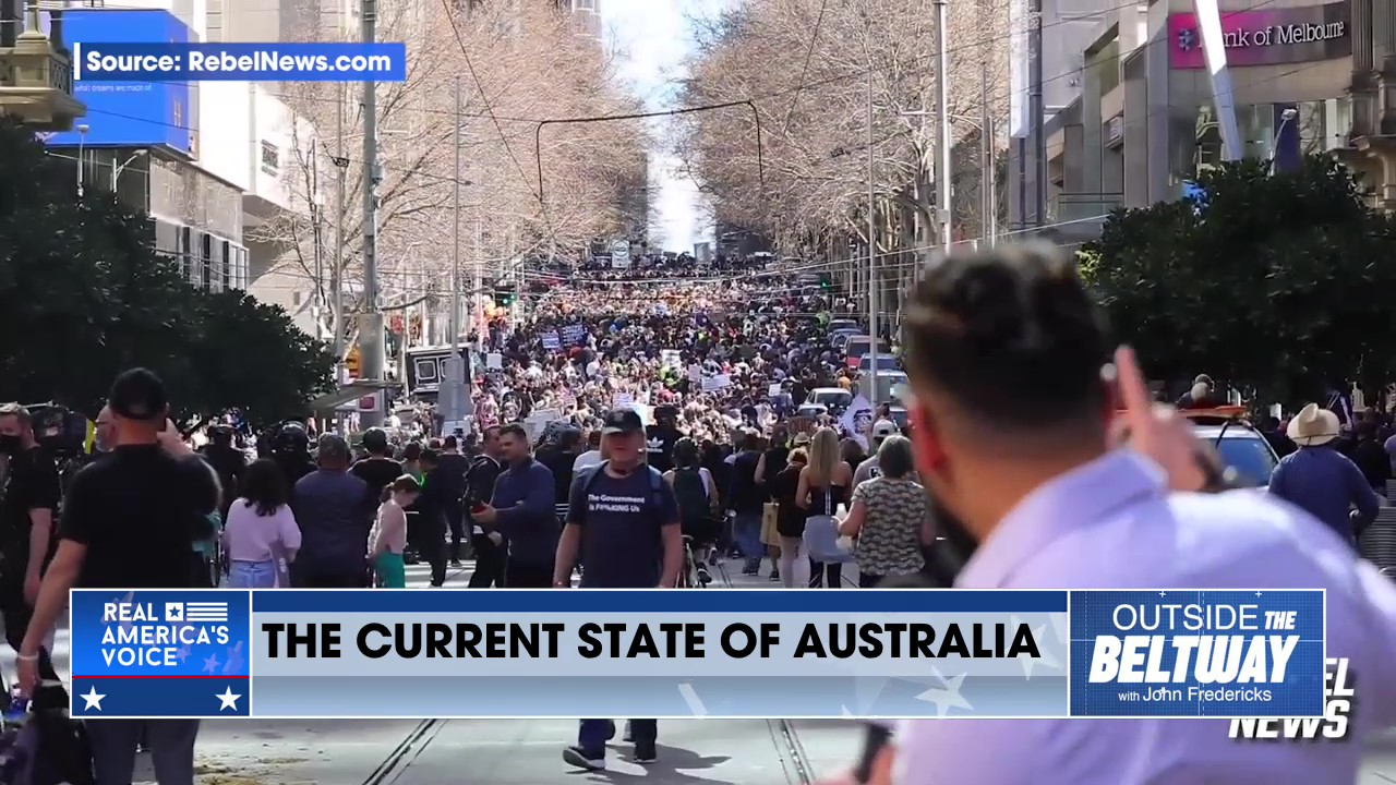 Aussie Protesters Shame the Government